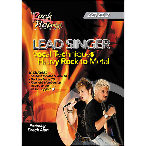 Rock House Lead Singer Vocal Techniques From Heavy Rock to Metal DVD Level 2