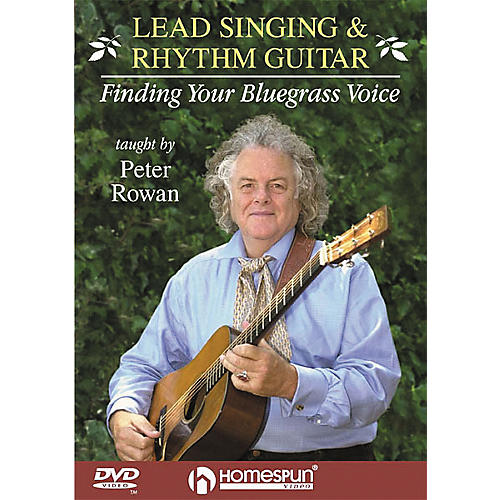 Homespun Lead Singing and Rhythm Guitar - Finding Your Bluegrass Voice (DVD)-thumbnail