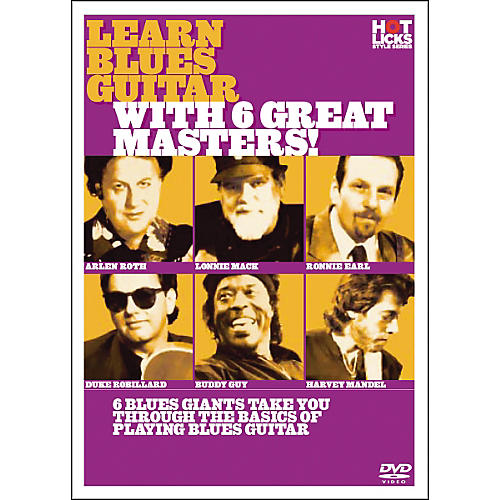 Hot Licks Learn Blues Guitar with 6 Great Masters DVD-thumbnail