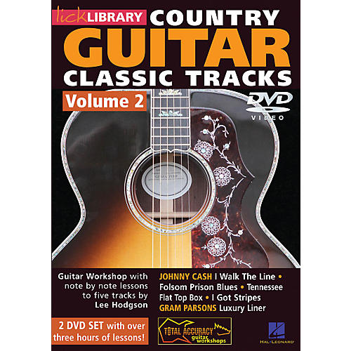 Hal Leonard Learn Country Guitar Classic Tracks Volume 2 (DVD)-thumbnail