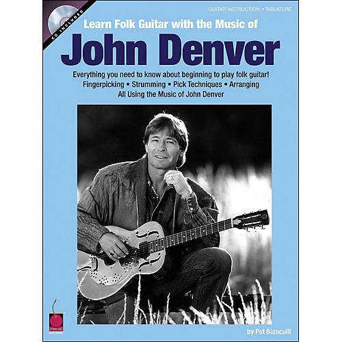 Cherry Lane Learn Folk Guitar with The Music Of John Denver Book/CD-thumbnail