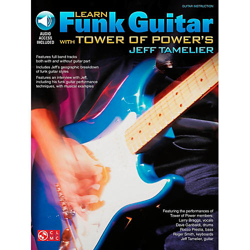 Cherry Lane Learn Funk Guitar with Tower of Power's Jeff Tamelier (Book/CD)-thumbnail