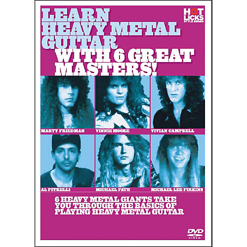 Hot Licks Learn Heavy Metal Guitar with 6 Great Masters DVD-thumbnail