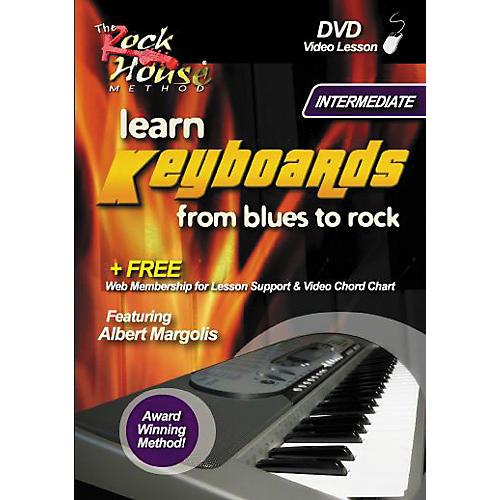 Rock House Learn Keyboards From Blues to Rock Intermediate DVD