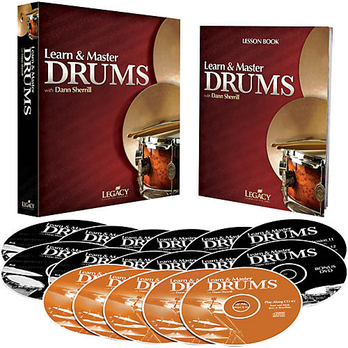 Hal Leonard Learn & Master Drums (Book/DVD/CD)-thumbnail