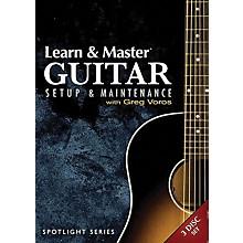 Hal Leonard Learn & Master Guitar Setup And Maintenance 3-DVD Set Legacy Of Learning Series