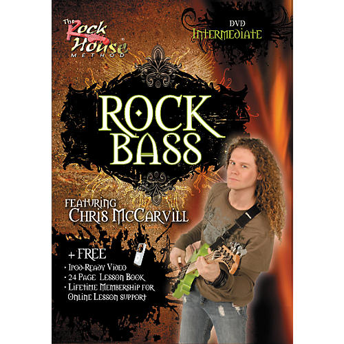Hal Leonard Learn Rock Bass Intermediate DVD-thumbnail