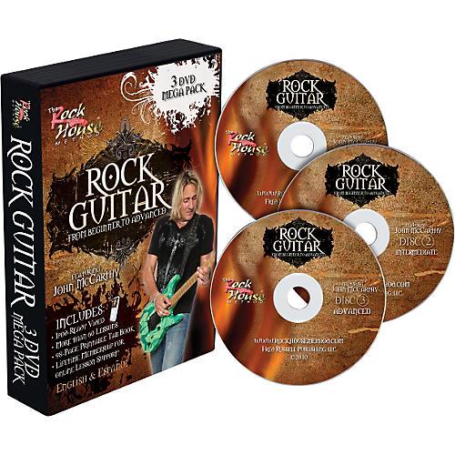 Rock House Learn Rock Guitar: Beginner, Intermediate, and Advanced (3-DVD package)-thumbnail