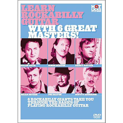 Hot Licks Learn Rockabilly Guitar with 6 Great Masters DVD-thumbnail