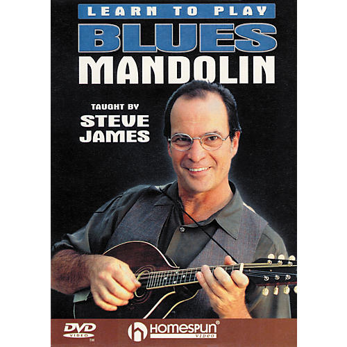 Homespun Learn To Play Blues Mandolin (DVD)-thumbnail