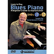 Homespun Learn To Play Blues Piano Lessons 1 and 2 DVD