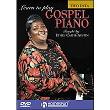 Homespun Learn To Play Gospel Piano 2 DVD Set