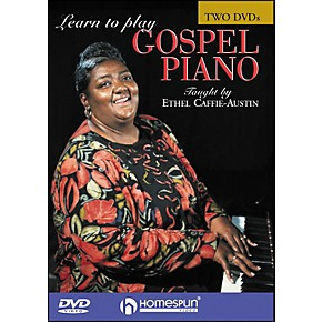 homespun learn to play gospel piano 2 dvd set guitar center. Black Bedroom Furniture Sets. Home Design Ideas