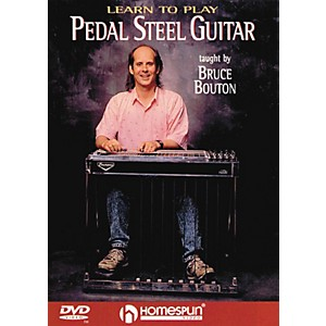 Homespun Learn To Play Pedal Steel Guitar DVD