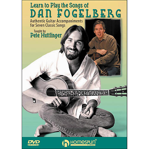 Homespun Learn To Play The Songs Of Dan Fogelberg DVD By Pete Huttlinger-thumbnail