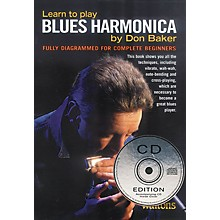 Waltons Learn to Play Blues Harmonica Waltons Irish Music Books Series Softcover with CD Written by Don Baker