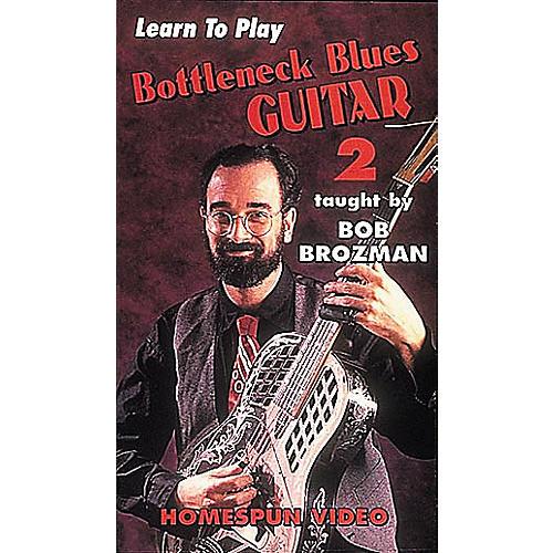 Homespun Learn to Play Bottleneck Blues Guitar 2 (VHS)