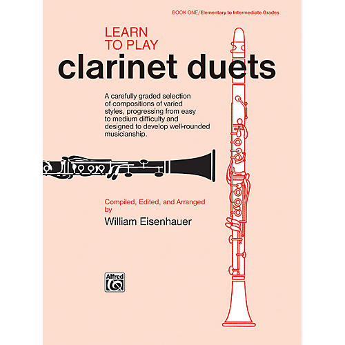 Alfred Learn to Play Clarinet Duets Book