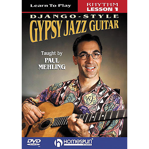 Homespun Learn to Play Django-Style Gypsy Jazz Guitar 1 (DVD)