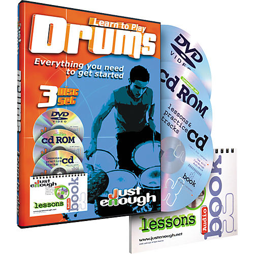 JustEnough Learn to Play Drums Starter Pack