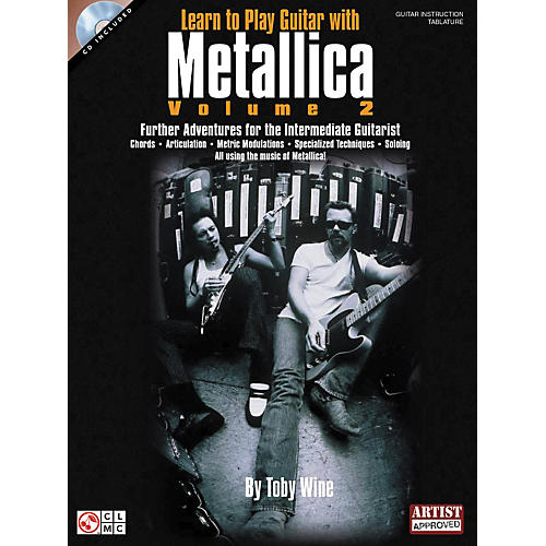 Hal Leonard Learn to Play Guitar with Metallica Volume 2 Book with CD