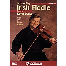 Homespun Learn to Play Irish Fiddle, Lesson Two DVD/Instructional/Folk Instrmt Series DVD Written by Kevin Burke