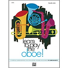 Alfred Learn to Play Oboe! Book 1