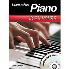 Music Sales Learn to Play Piano in 24 Hours Music Sales America Series Softcover with DVD Written by John Dutton