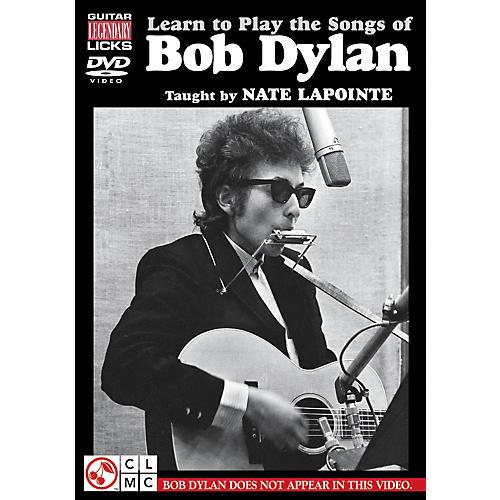 Hal Leonard Learn to Play The Songs of Bob Dylan - Guitar Legendary Licks DVD