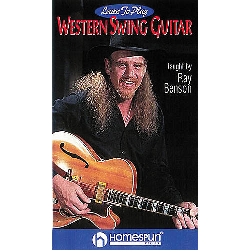Homespun Learn to Play Western Swing Guitar (VHS)-thumbnail