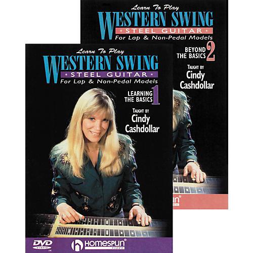Homespun Learn to Play Western Swing Steel Guitar 2 DVD Set-thumbnail