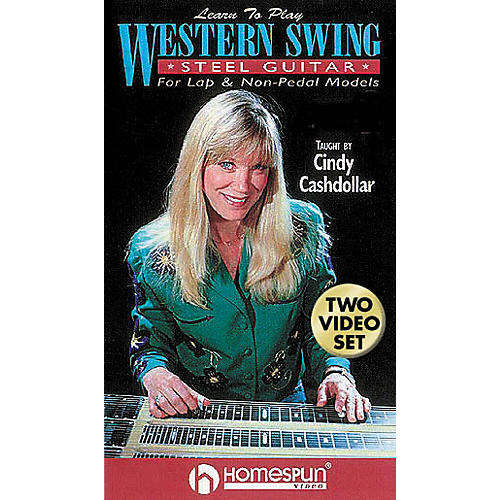 Hal Leonard Learn to Play Western Swing Steel Guitar 2-Video Set
