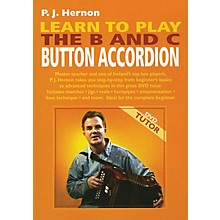 Waltons Learn to Play the B and C Button Accordion Waltons Irish Music Dvd Series DVD Written by P.J. Hernon