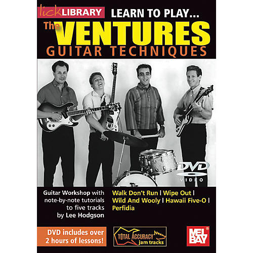 Hal Leonard Learn to Play the Ventures Guitar Techniques-thumbnail