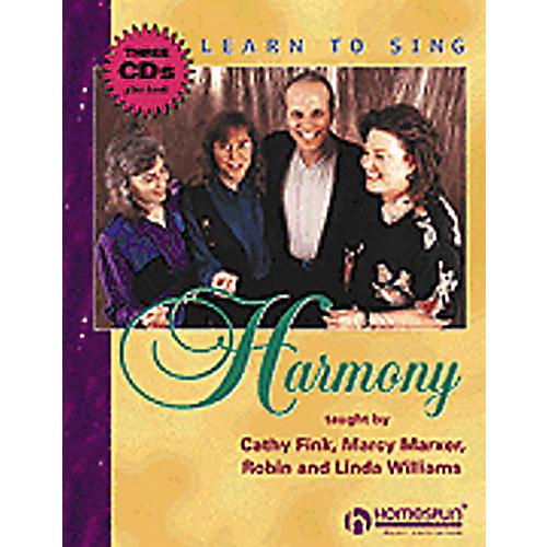 Hal Leonard Learn to Sing Harmony CD-thumbnail