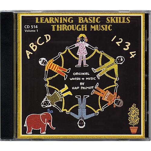 Educational Activities Learning Basic Skills Through Music - Volume 1 (CD)