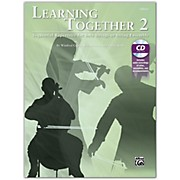 BELWIN Learning Together 2 Cello Book & CD