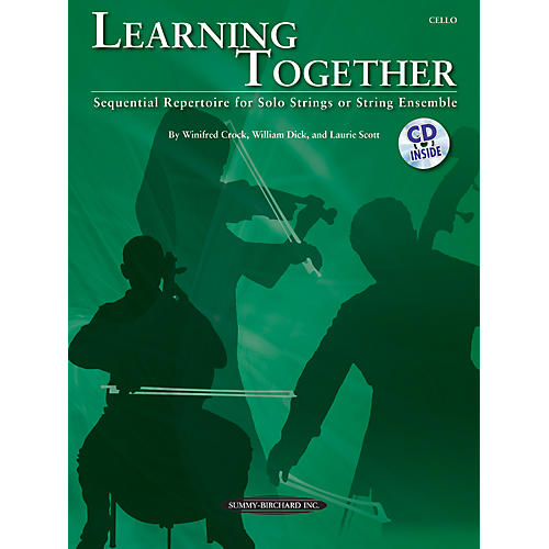 Suzuki Learning Together for Cello (Book/CD)