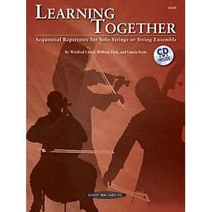 Summy-Birchard Learning Together for Upright Bass Book/CD