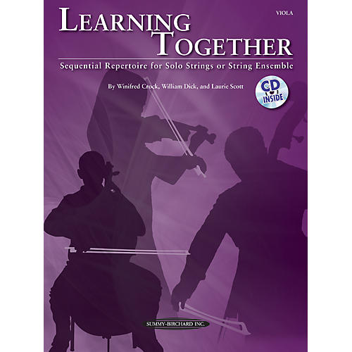 Summy-Birchard Learning Together for Viola (Book/CD)-thumbnail