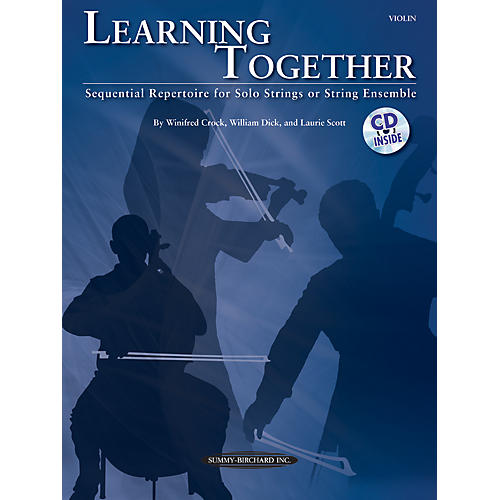 Summy-Birchard Learning Together for Violin (Book/CD)-thumbnail