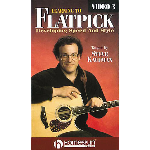 Homespun Learning to Flatpick 3 (VHS)