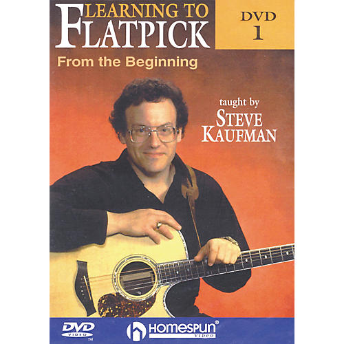 Homespun Learning to Flatpick From the Beginning DVD 1 with Tab-thumbnail