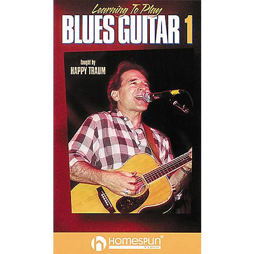 Homespun Learning to Play Blues Guitar 1 (VHS)-thumbnail