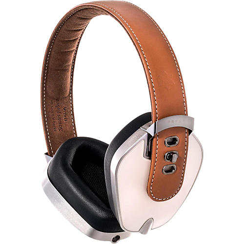 Pryma Headphones Leather & Aluminum Headphones