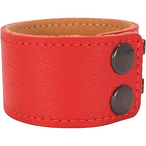 Road Runner Leather Bracelet  Red