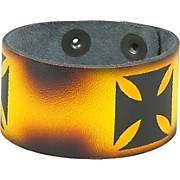 Perri's Leather Bracelet with Airbrushed Design