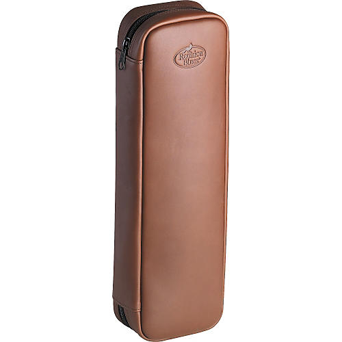 Reunion Blues Leather Flute Case Cover-thumbnail