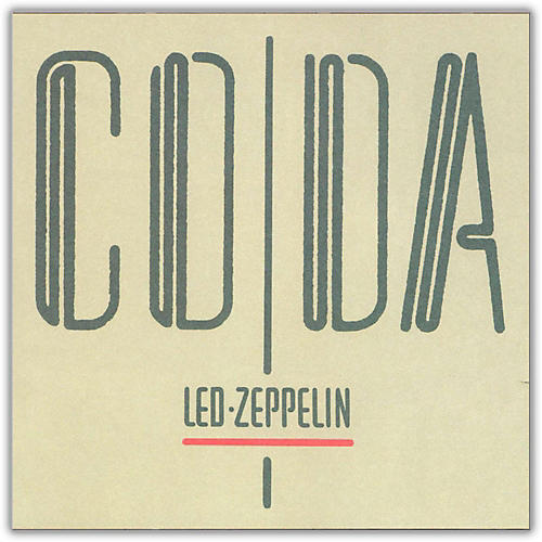 WEA Led Zeppelin - Coda Vinyl LP