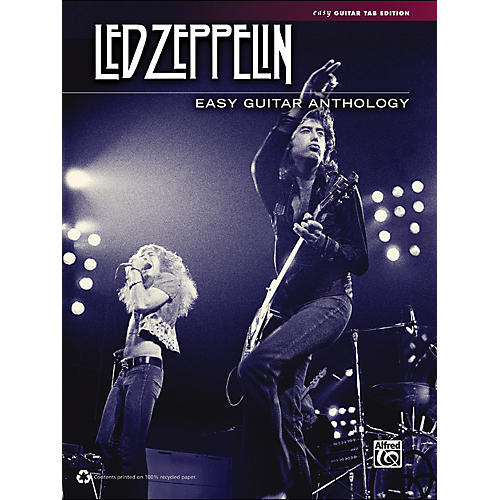 Alfred Led Zeppelin - Easy Guitar Anthology-thumbnail